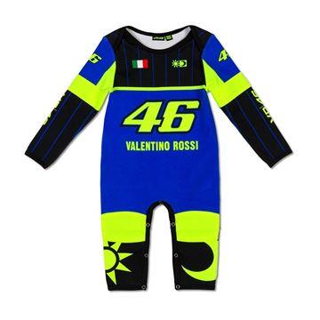 Afbeelding van Valentino Rossi baby replica romper overall VRKOA363409