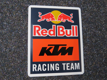 Afbeelding van KTM Red Bull team sign KTM19065