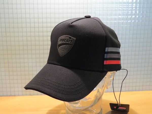 Picture of Ducati baseball black flock cap pet 1946002