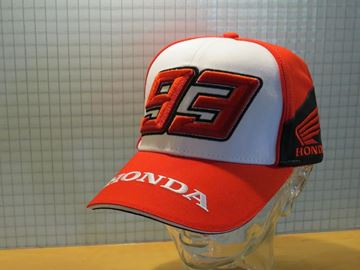 Picture of Marc Marquez #93 Dual Honda baseball cap / pet 1948005