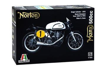 Afbeelding van Norton manx bouwdoos 1:9 4602