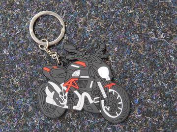 Afbeelding van keyring sleutelhanger Ducati Diavel