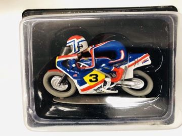 Afbeelding van Freddy Spencer Honda 500 NS 1:18 joe bar