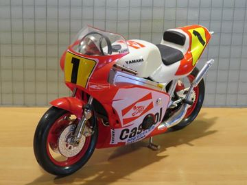 Picture of Wayne Rainey Yamaha 500cc. 1:10 guiloy