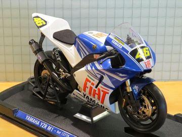 Afbeelding van Valentino Rossi Yamaha YZR-M1 2007 1:10