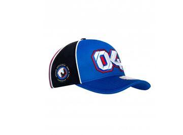 Afbeelding van Andrea Dovizioso #04 baseball cap / pet blue 1942202