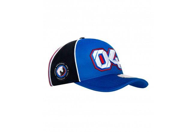 Picture of Andrea Dovizioso #04 baseball cap / pet blue 1942202