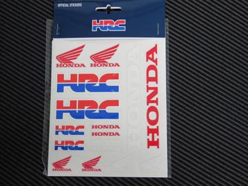 Picture of HRC Honda medium stickerset 1858003