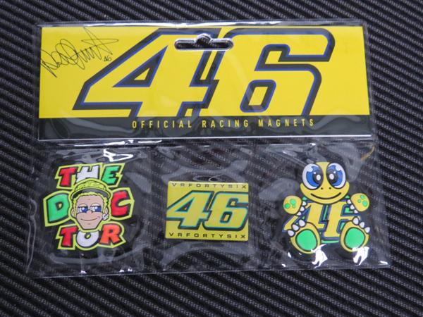 Picture of Valentino Rossi mixed magnet kit koelkast magneet VRUMG277303
