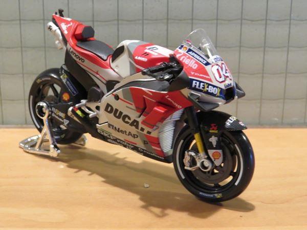 Picture of Andrea Dovizioso Ducati Desmosedici 2018 1:18 31593