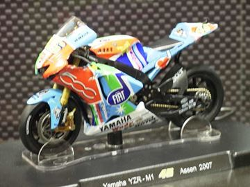 Afbeelding van Valentino Rossi Yamaha YZR-M1 2007 Assen 1:18
