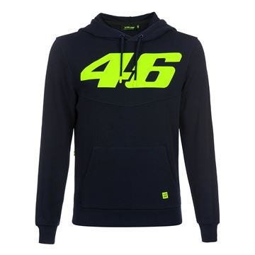 Picture of Valentino Rossi Core large 46 hoodie blue COMFL325102