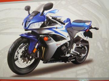 Afbeelding van Honda CBR600RR kit 1:12 39154