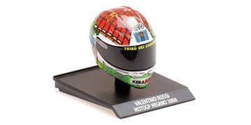 Afbeelding van Valentino Rossi  AGV helm 2008 Misano 1:10 315080056