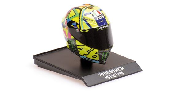 Picture of Valentino Rossi  AGV helm 2016 1:10 315160046