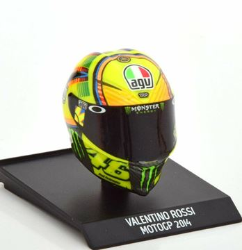 Picture of Valentino Rossi AGV helm 2014 1:10 315140046