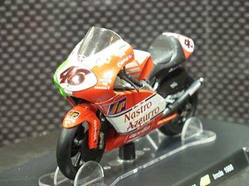 Afbeelding van Valentino Rossi Aprilia RSW250 Imola 1998 1:18