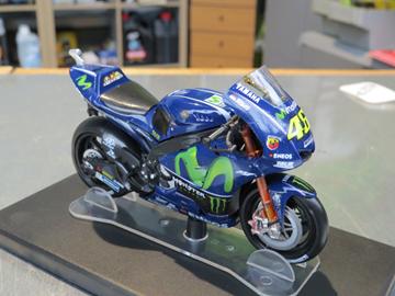 Afbeelding van Valentino Rossi Yamaha YZR-M1 2017 1:18