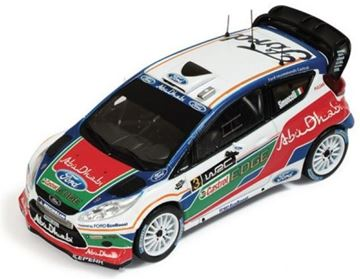 Picture of Ford FIESTA WRC MARCO SIMONCELLI UK TEST 2011 1:43 RAM463