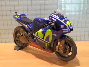 Afbeelding van Valentino Rossi Yamaha YZR-M1 2017 Malaysia 1:12 122173346