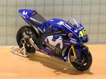 Afbeelding van Valentino Rossi Monster energy Yamaha YZR-M1 2018 1:18 31594