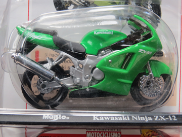Picture of Kawasaki ZX-12R 1:18 Maisto