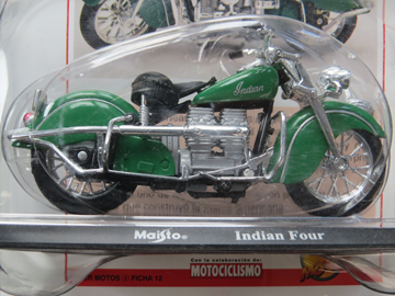 Picture of Indian Four 1:18 maisto