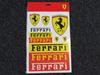 Picture of Ferrari stickers big stickerset