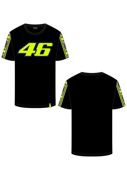 Picture of Valentino Rossi 46 tapes t-shirt VRMTS390304