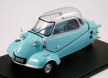 Picture of Messerschmitt KR200 1:18 18MBC004 light blue