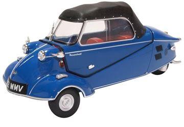 Afbeelding van Messerschmitt KR200 1:18 18MBC006 royal blue