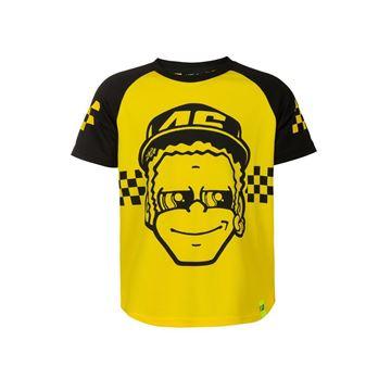 Picture of Valentino Rossi kids 46 dottorone t-shirt VRKTS393724