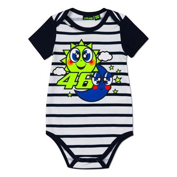 Picture of Valentino Rossi baby romper body sun moon VRKBB394103
