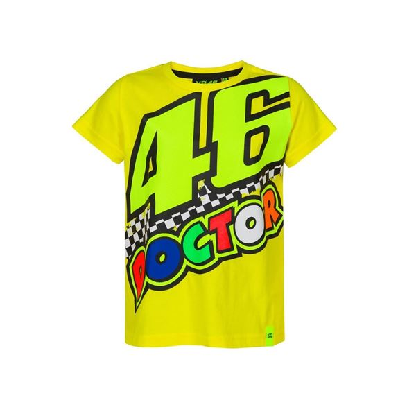 Picture of Valentino Rossi kids 46 the doctor t-shirt VRKTS393201