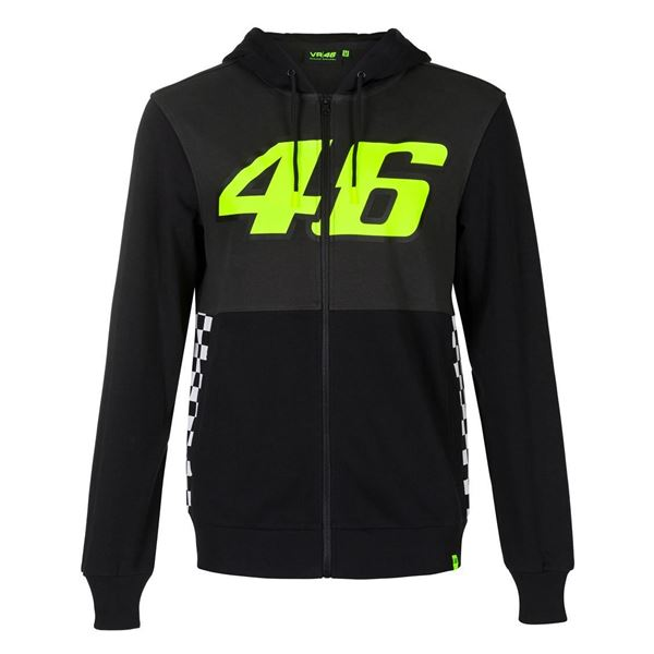 Picture of Valentino Rossi 46 race hoodie VRMFL390803