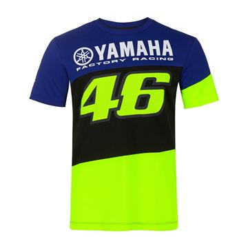 Afbeelding van Valentino Rossi Yamaha dual t-shirt YDMTS394909
