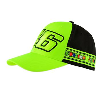 Picture of Valentino Rossi 46 tapes cap / pet VRMCA390528