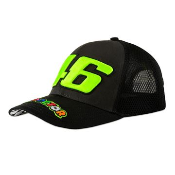 Picture of Valentino Rossi 46 race trucker cap / pet VRMCA390903