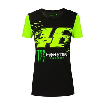 Picture of Valentino Rossi Woman Monza monster t-shirt MOWTS397404