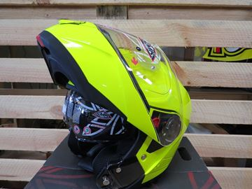 Picture of SMK glide systeem helm fluor geel