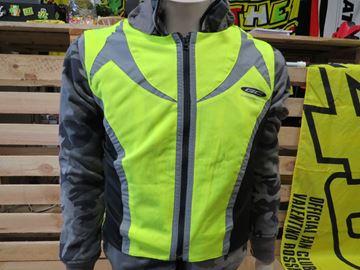 Afbeelding van GC Stretch reflection vest / fluor geel hesje