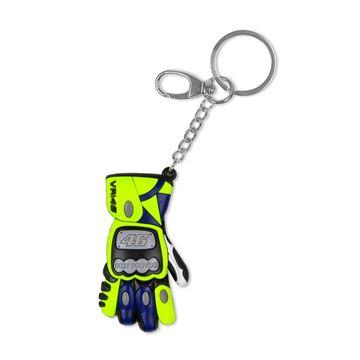 Afbeelding van Valentino Rossi 3D glove handschoen keyring sleutelhanger VRUKH356003