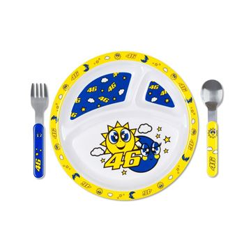 Picture of Valentino Rossi sun moon meal set VRUSM401403