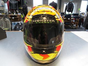Afbeelding van Monster Energy Rossi helm / vizier sticker