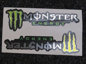 Afbeelding van Monster Energy foil sticker set
