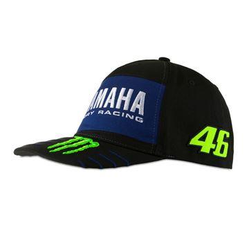 Afbeelding van Valentino Rossi dual mid visor Yamaha cap pet YMMCA396704