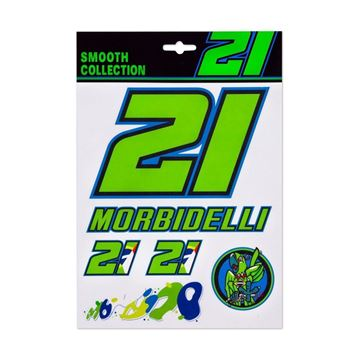 Afbeelding van Franco Morbidelli medium stickerset FMUST332403