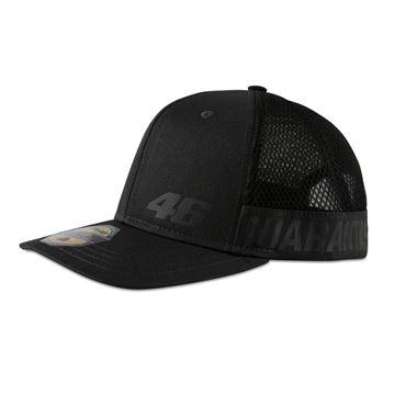 Picture of Valentino Rossi Core small 46 mid visor cap / pet black COMCA403120