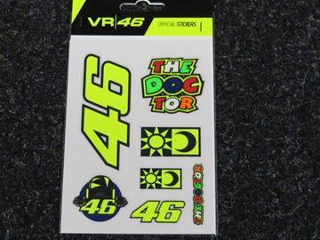 Afbeelding van Valentino Rossi small stickers VRUST399703