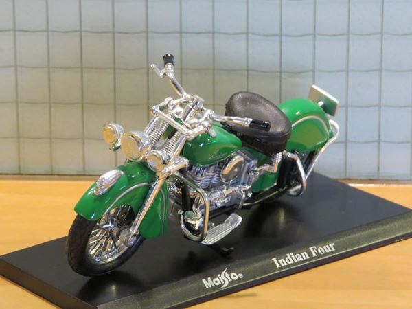 Picture of Indian Four 1:18 maisto los